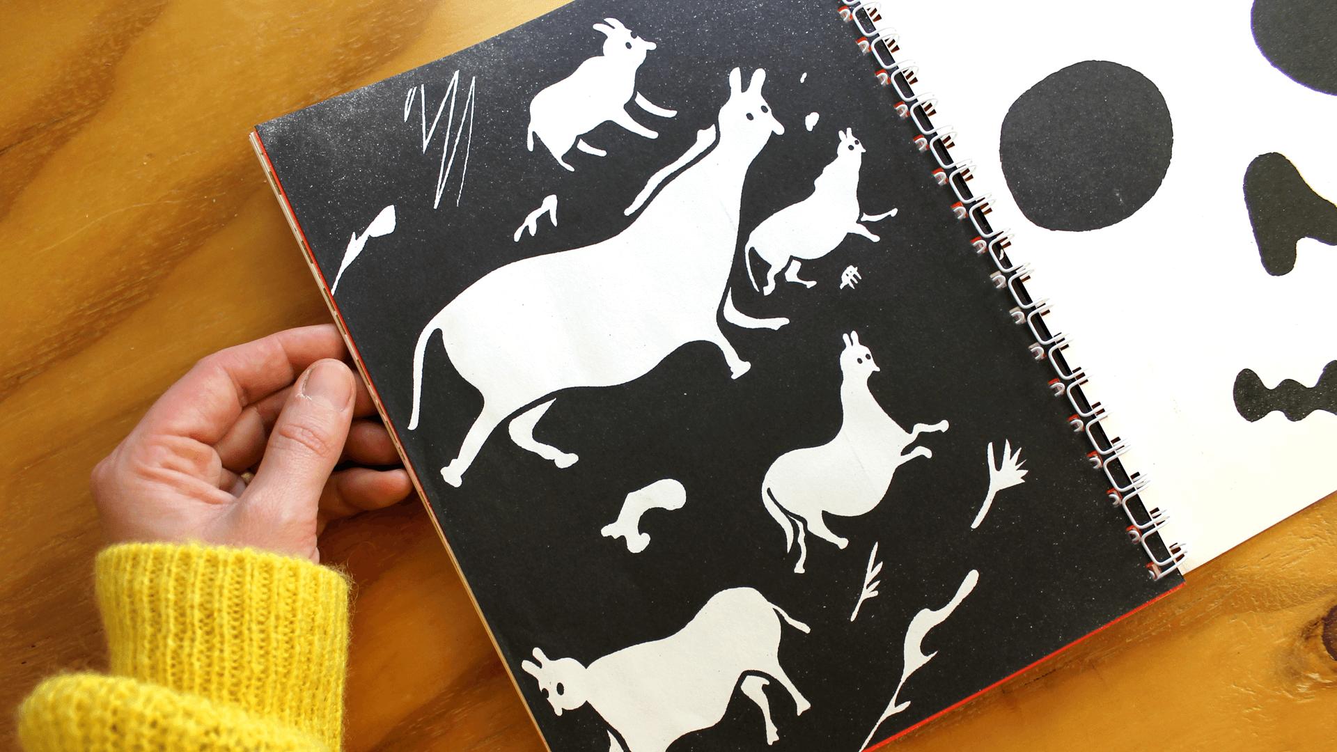 Studio Goof Julia Boehme Risography Mind the Back Book Design Illustration Leipzig