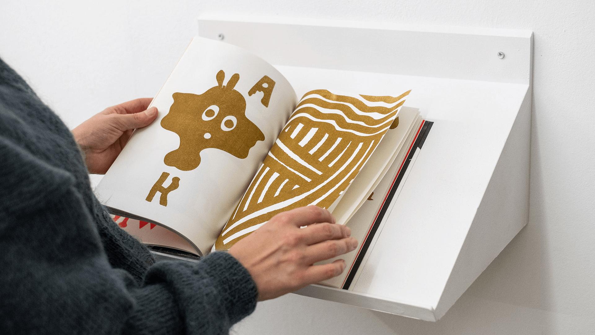 Studio Goof Julia Boehme Leipzig Mind the Back Risography Book