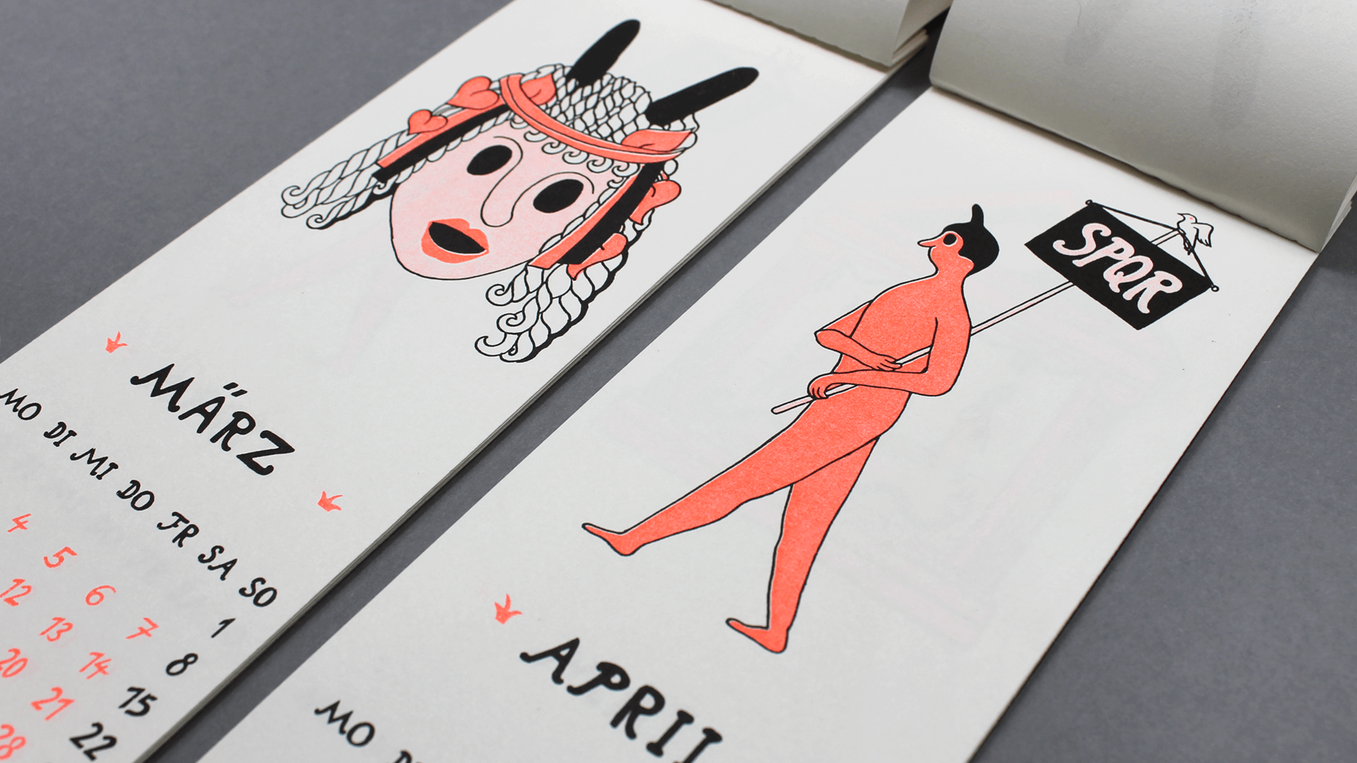 studio-goof studiogoof Julia Boehme calendar goof leipzig illustration