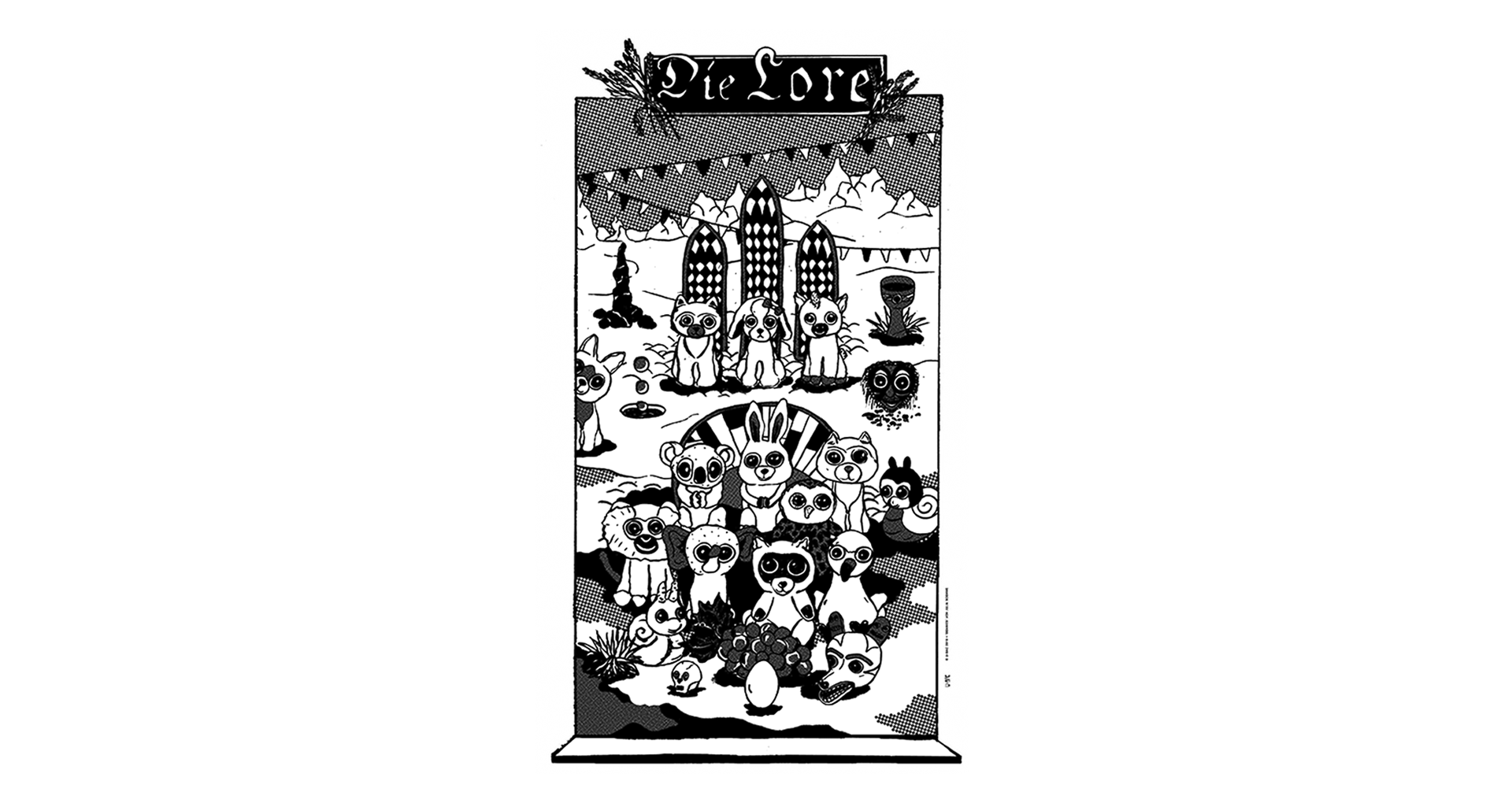 studiogoof studio goof julia boehme juliaboehme illustration gigposter concert poster music poster silkscreen risography Alex Cameron LeVent Ryskinder Moss Lime Tomorrows Tulips Kristen Gelbart Dives Pigeon Die Lore Molde Dives