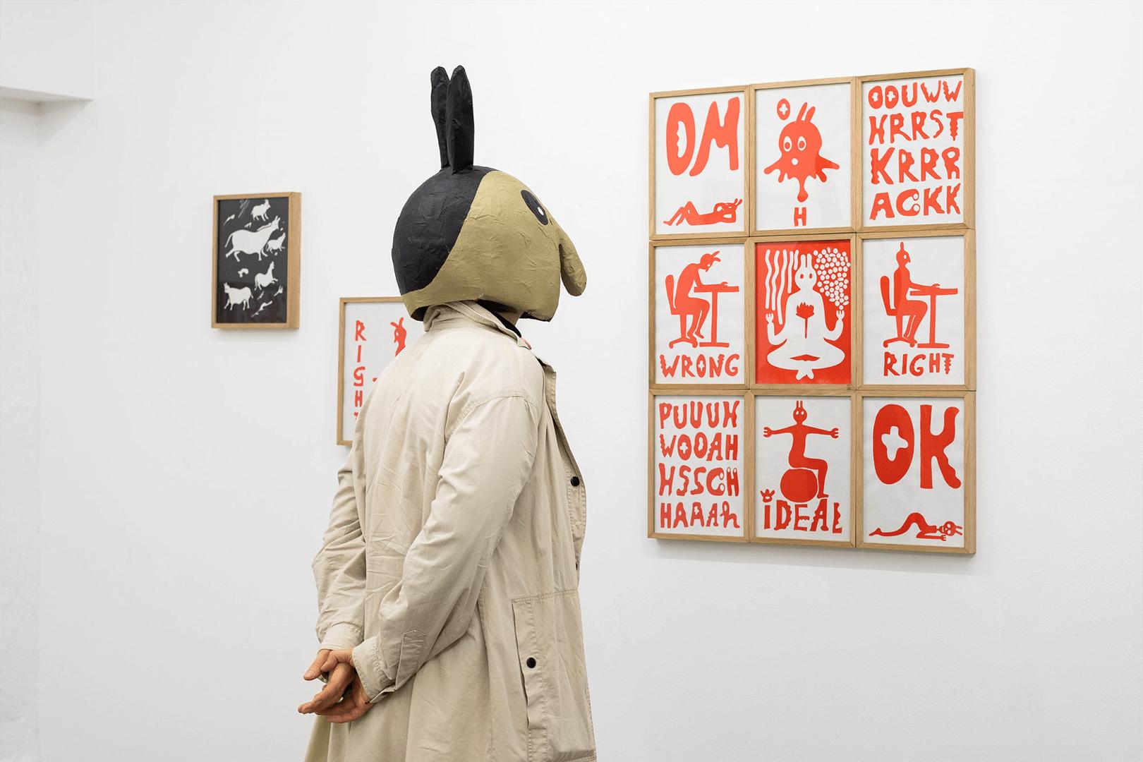Studio Goof Julia Boehme Exhibition Comic Bielefeld Artists Unlimited