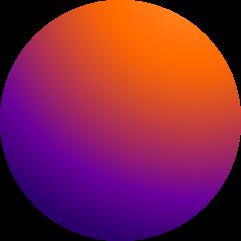 cercle degradé couleur