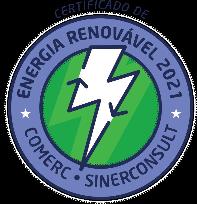 Certificado de Energia Renovável 2021