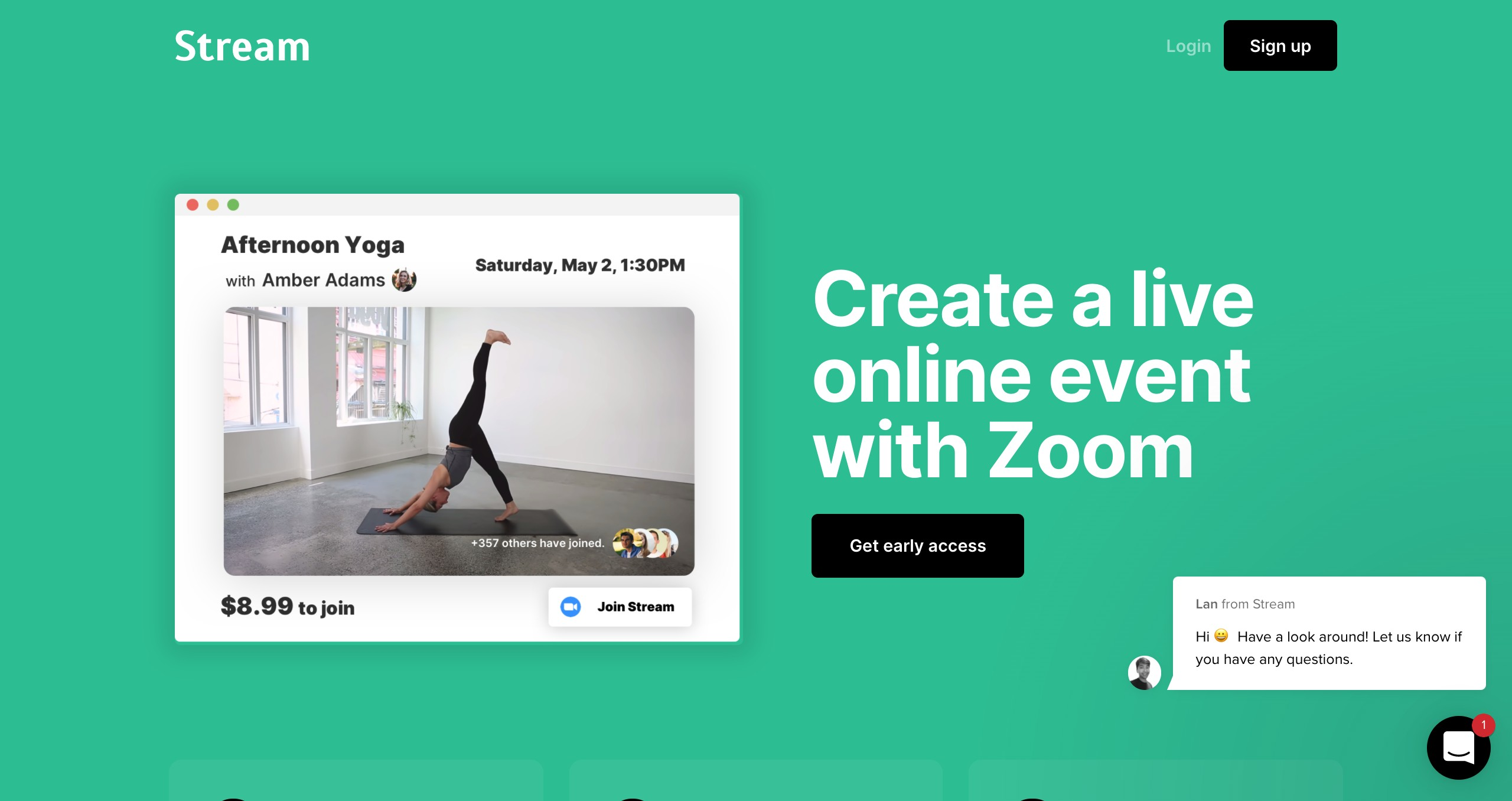 Stream | Make money from virtual events hosted on Zoom