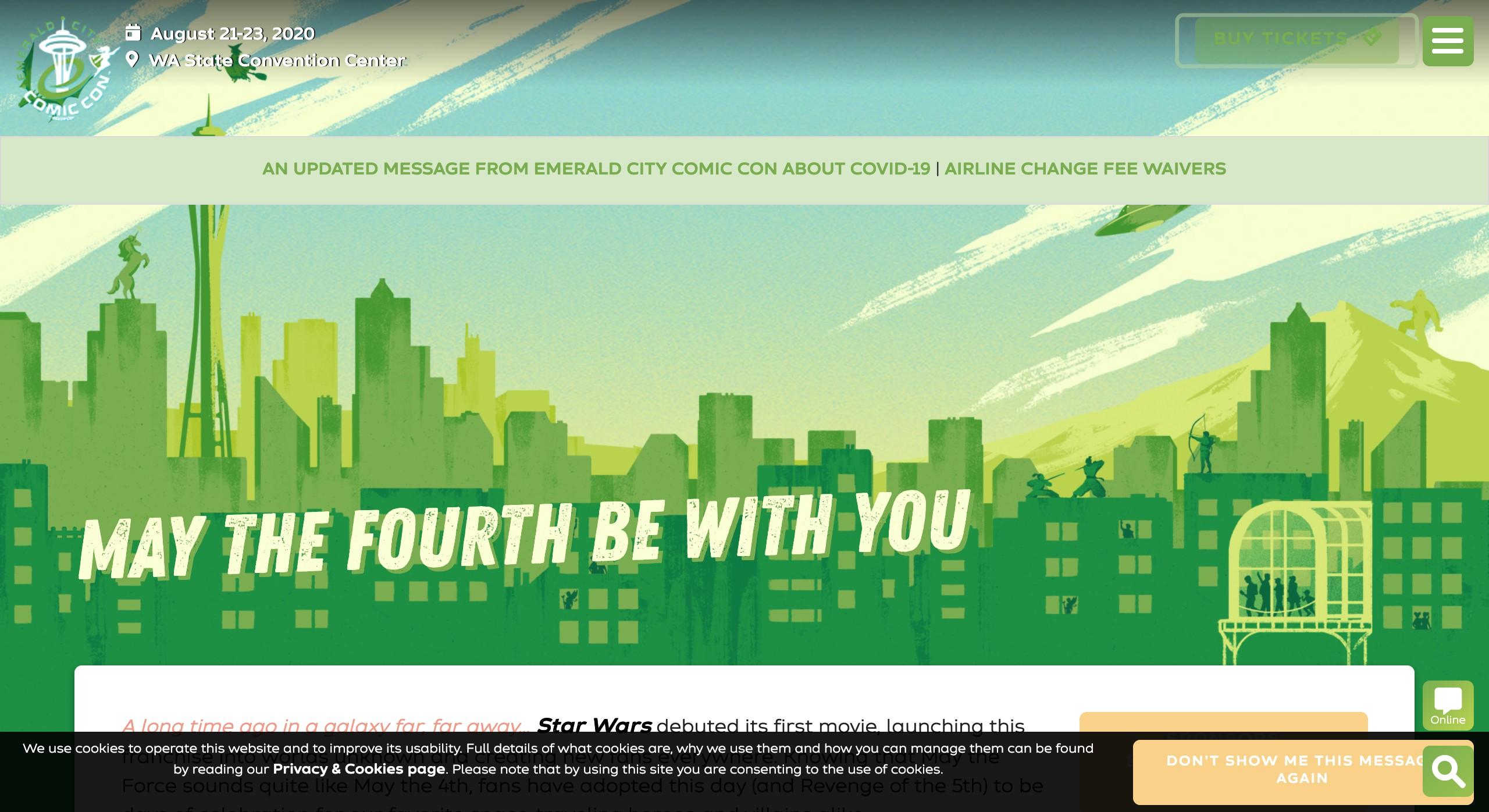 Star Wars Day - Emerald City Comic Con