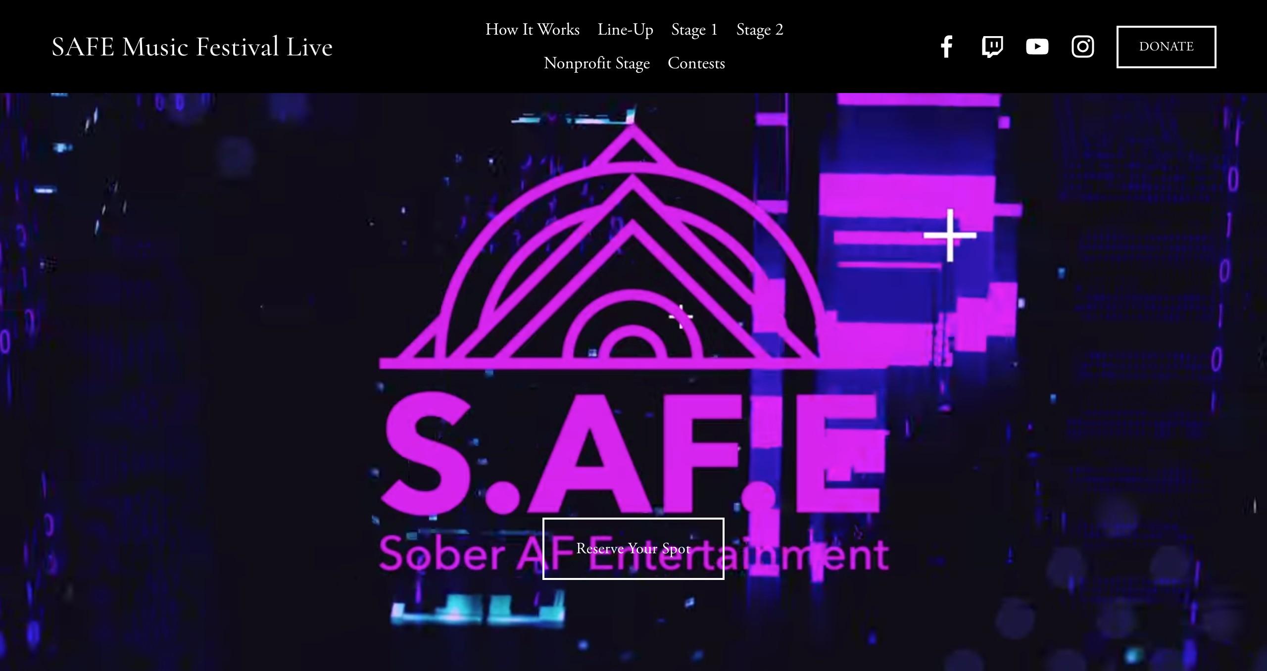 SAFE Music Festival Live Online