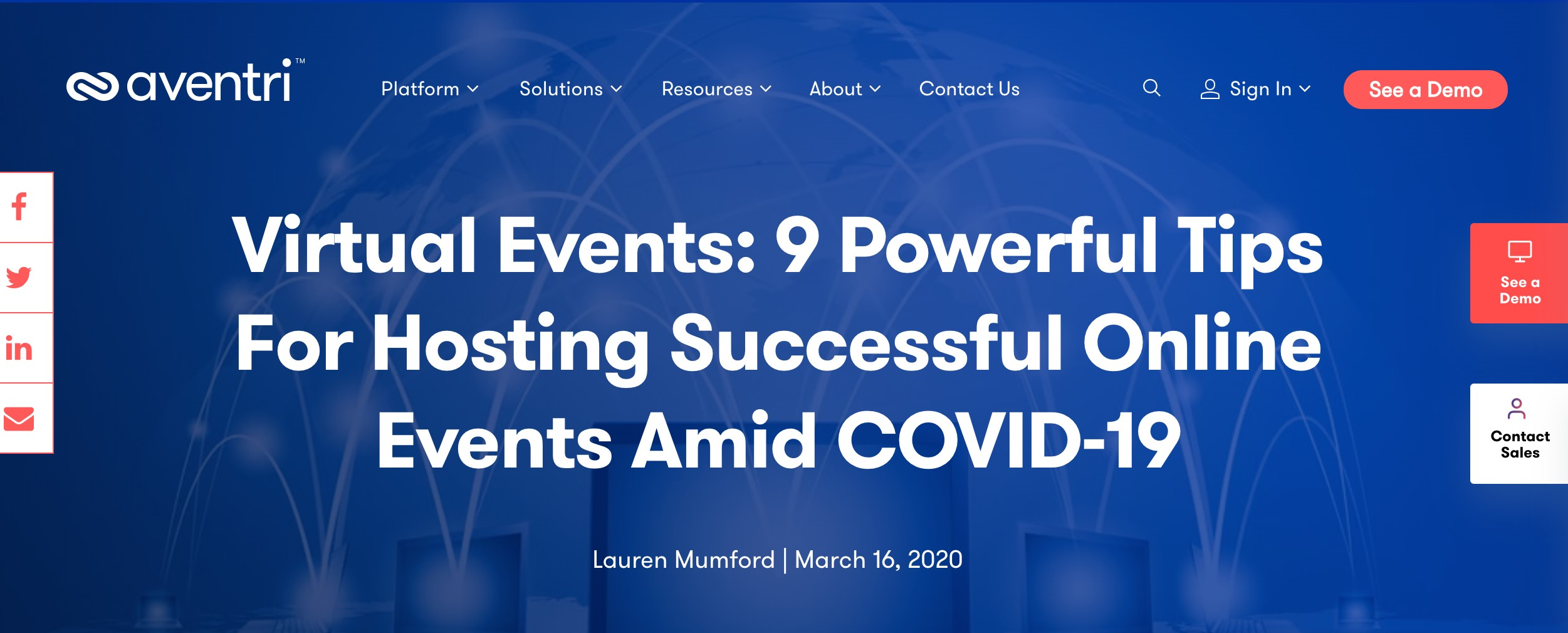 Virtual Events: 9 Powerful Tips For Hosting Successful Online Events