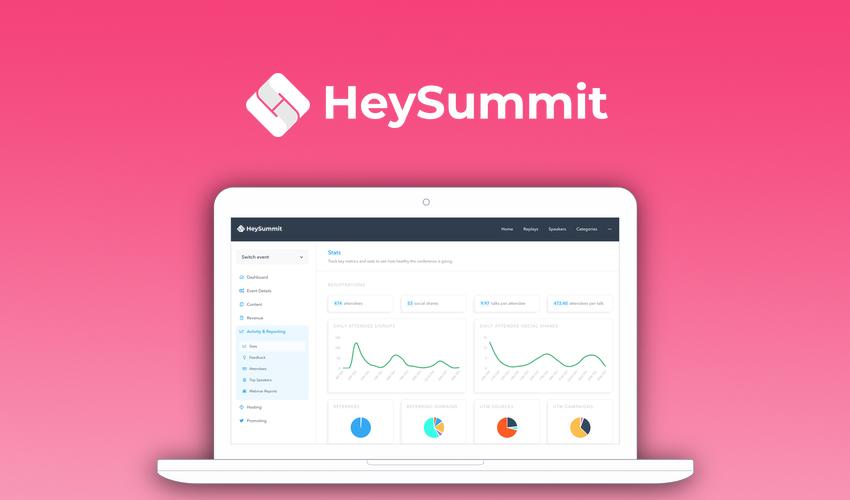 Hey Summit | Online summits, made simple.