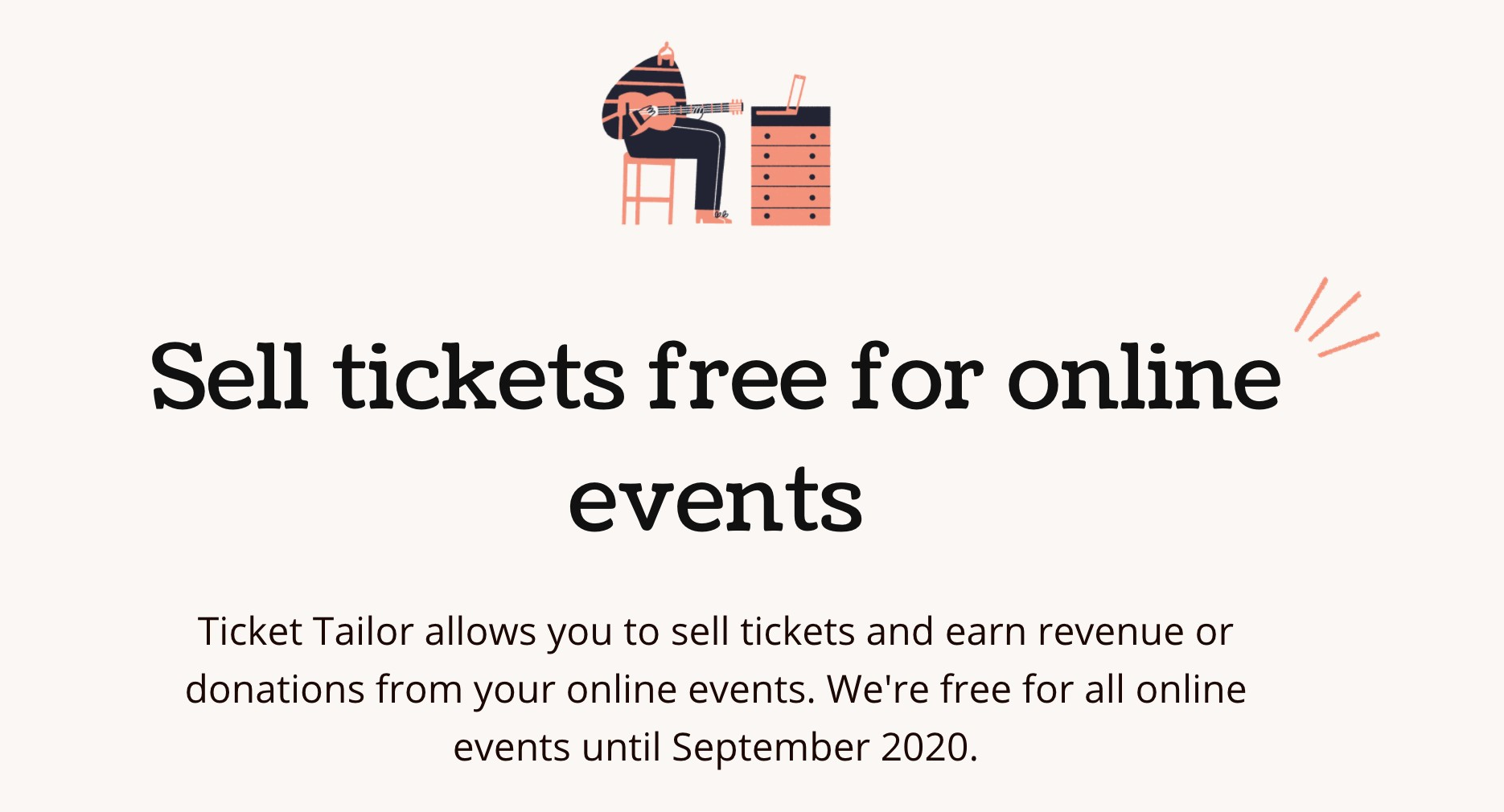 Ticket Tailor - Sell tickets free for online events