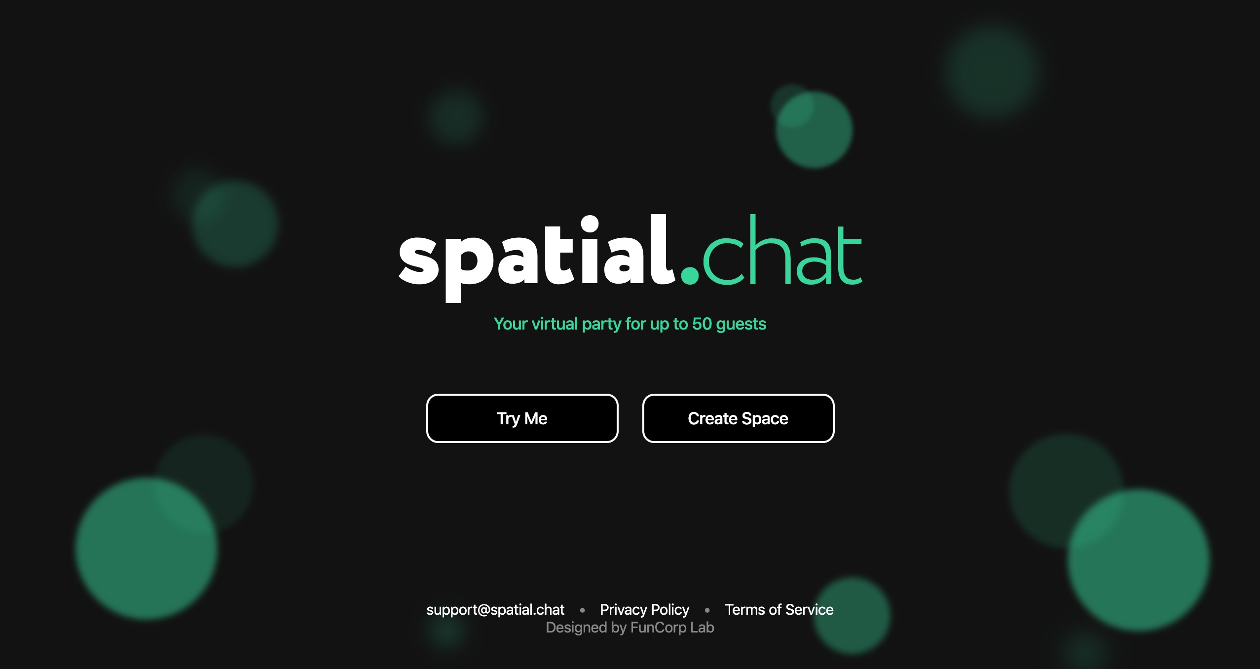 SpatialChat | Your virtual party for up to 50 guests