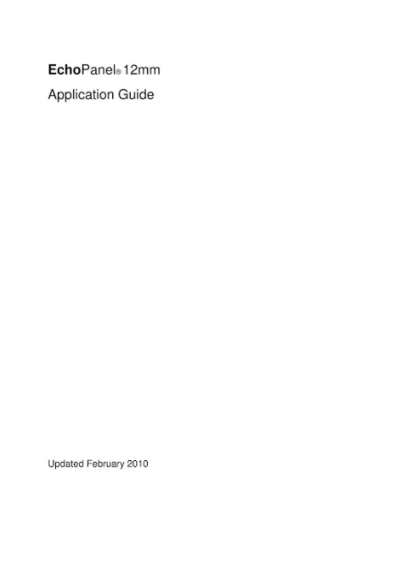 EchoPanel® Application guide