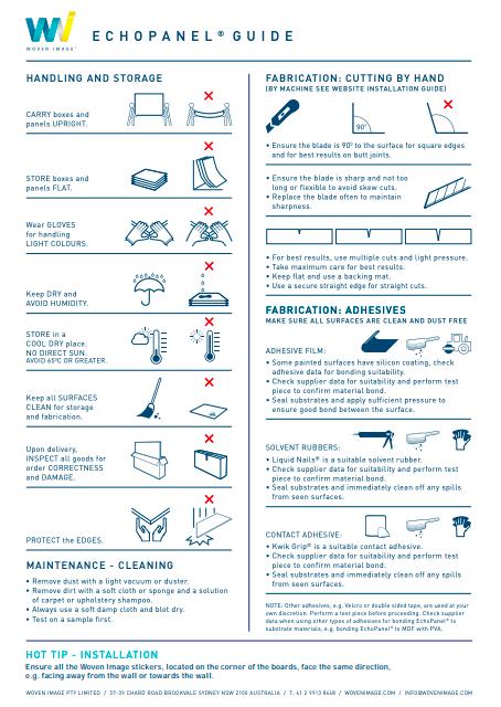 Longitude EchoPanel® installation guide
