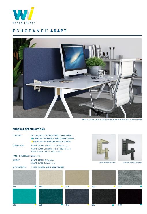 Adapt Desk Brochure