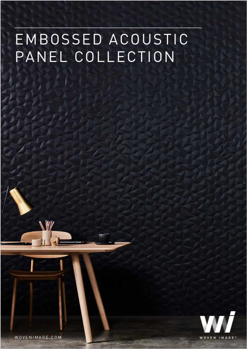 Embossed collection brochure