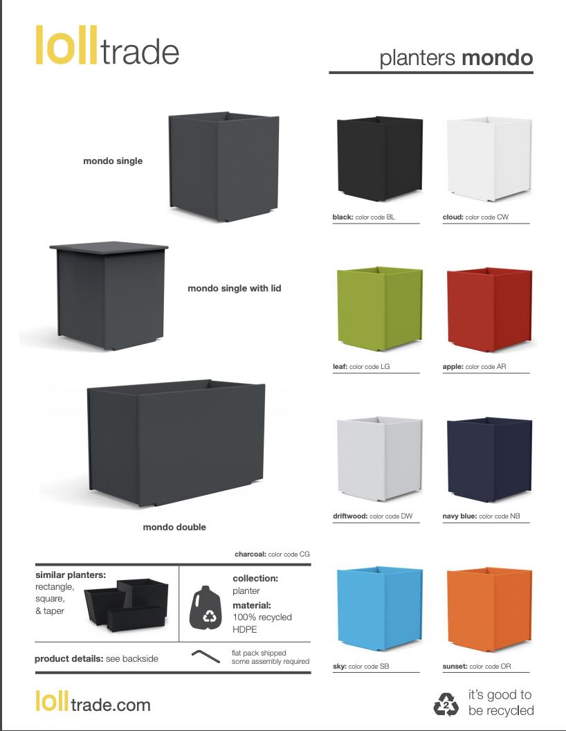 Loll Designs Mondo cutsheet