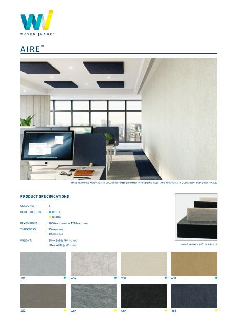 EchoPanel Aire Brochure
