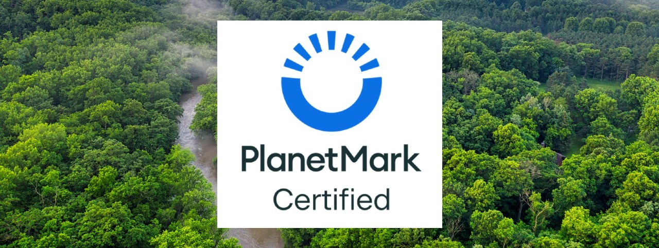 Reducing our Carbon Footprint | Planet Mark Year 1 Certification