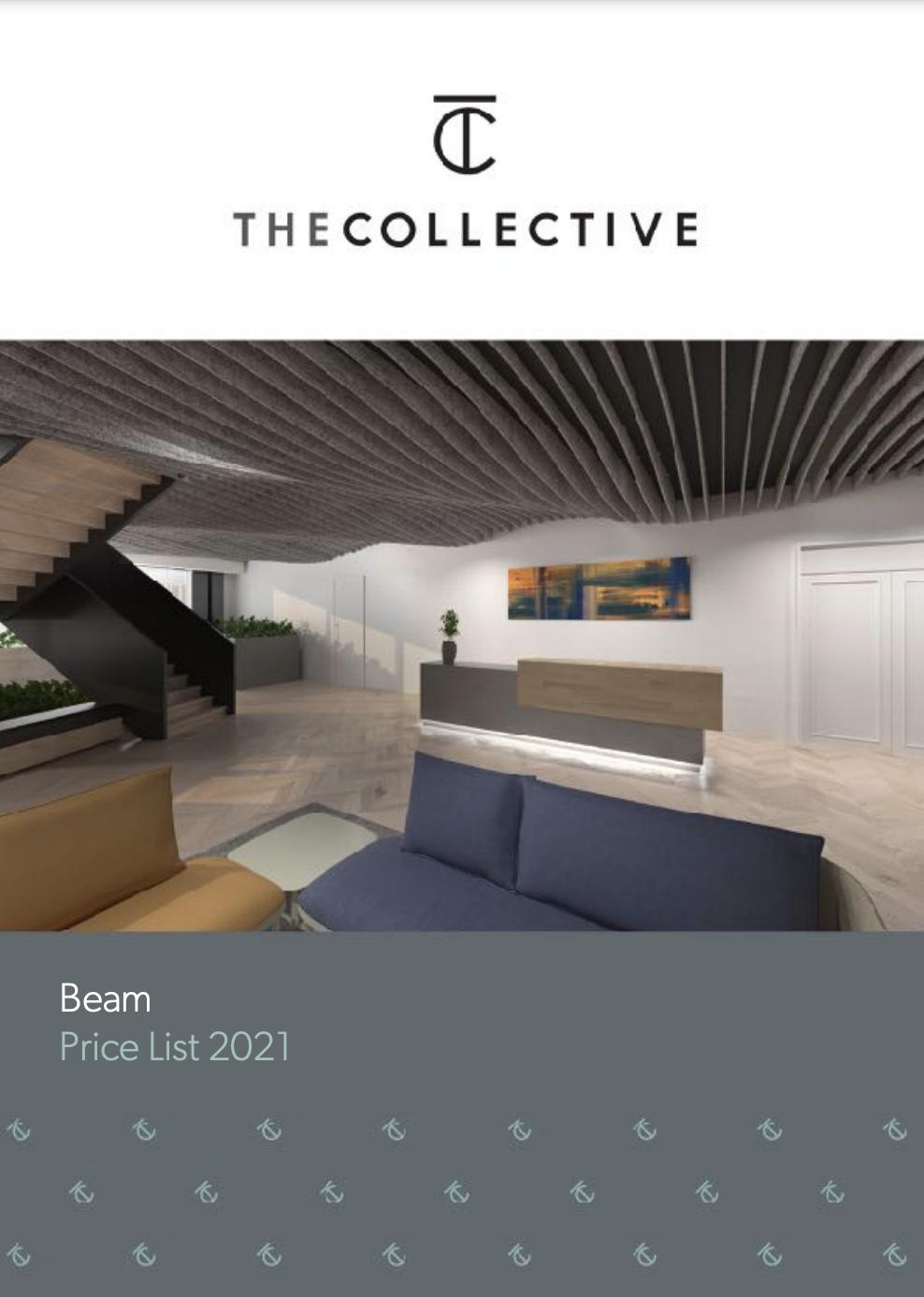 Beam Baffles product brochure