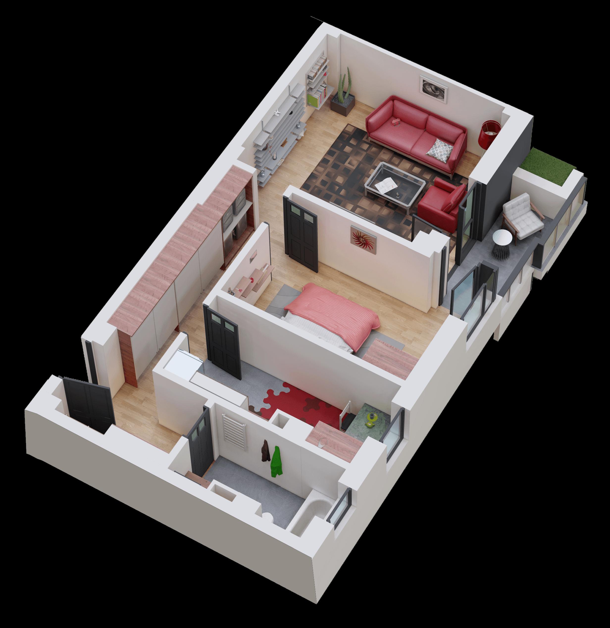 Apartament tip 06