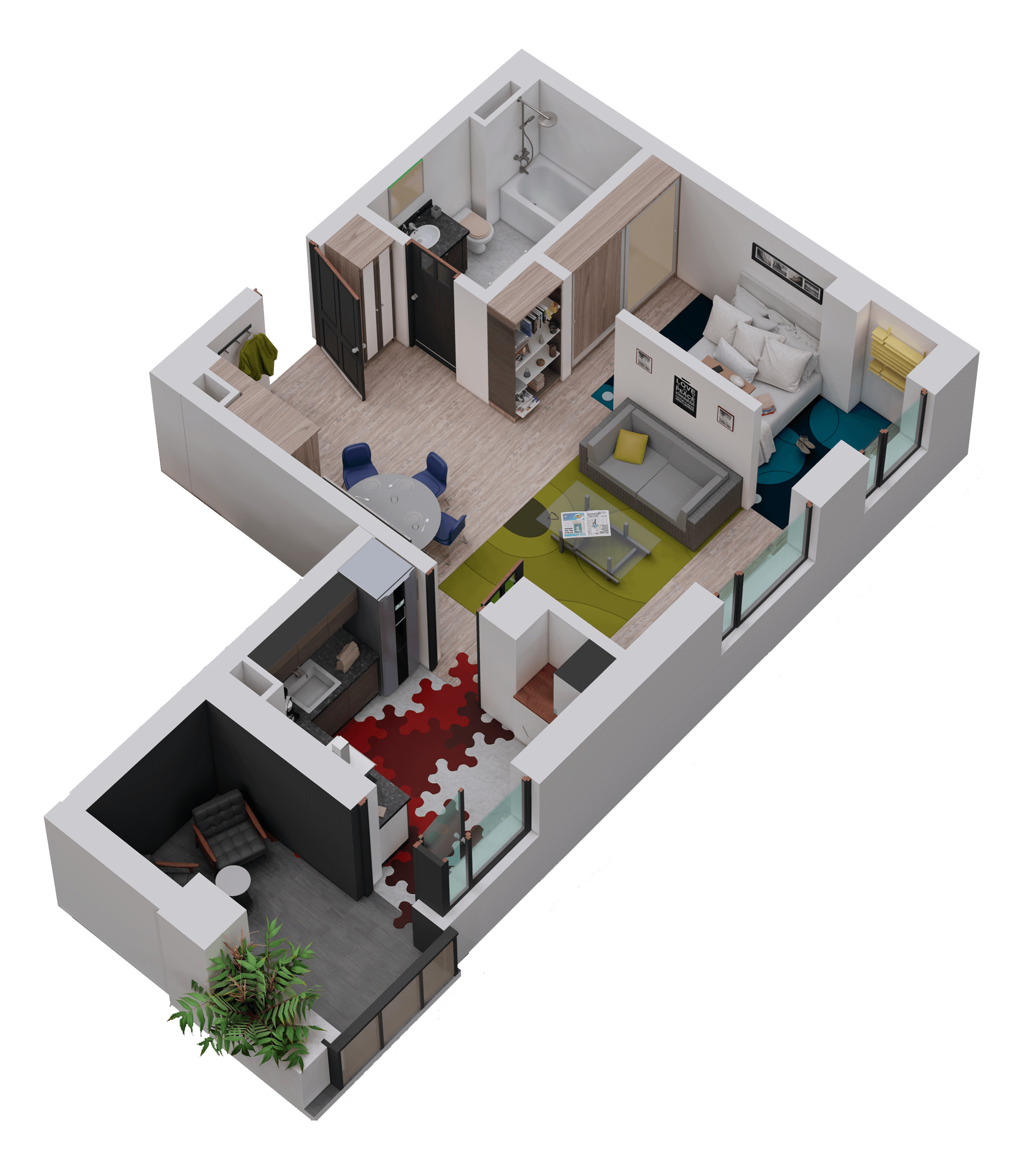 Apartament tip 08