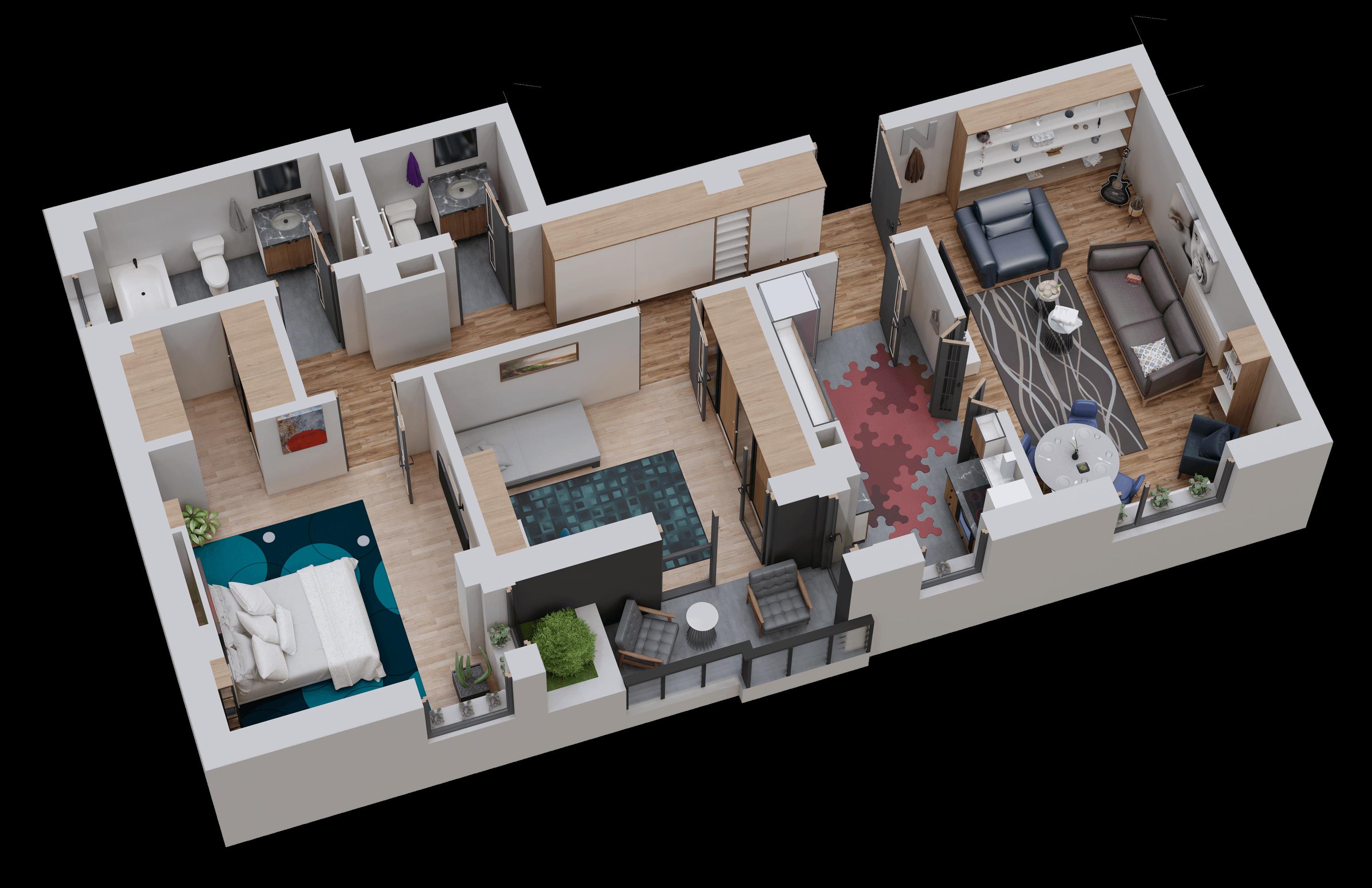 Apartament tip 14