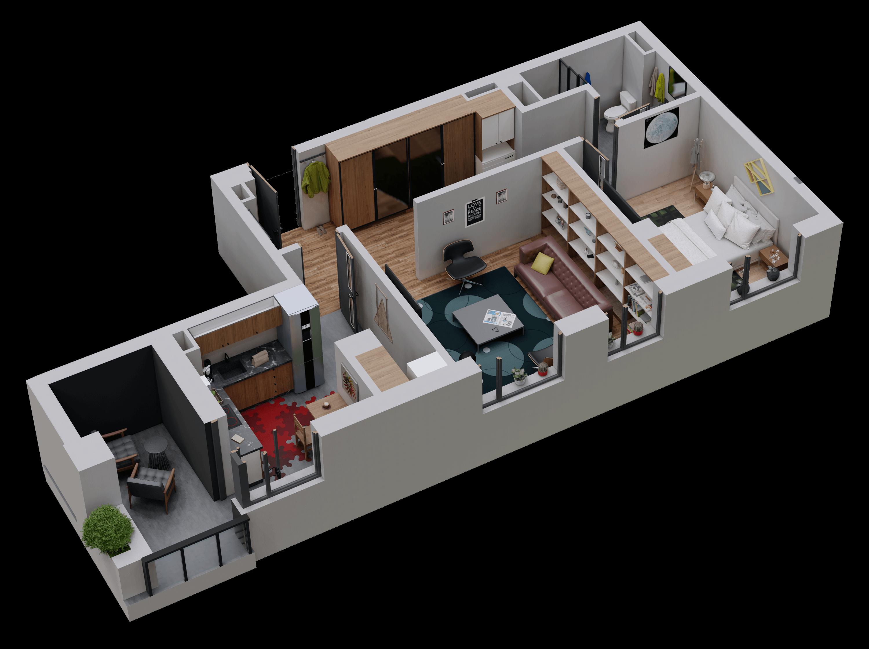 Apartament tip 16
