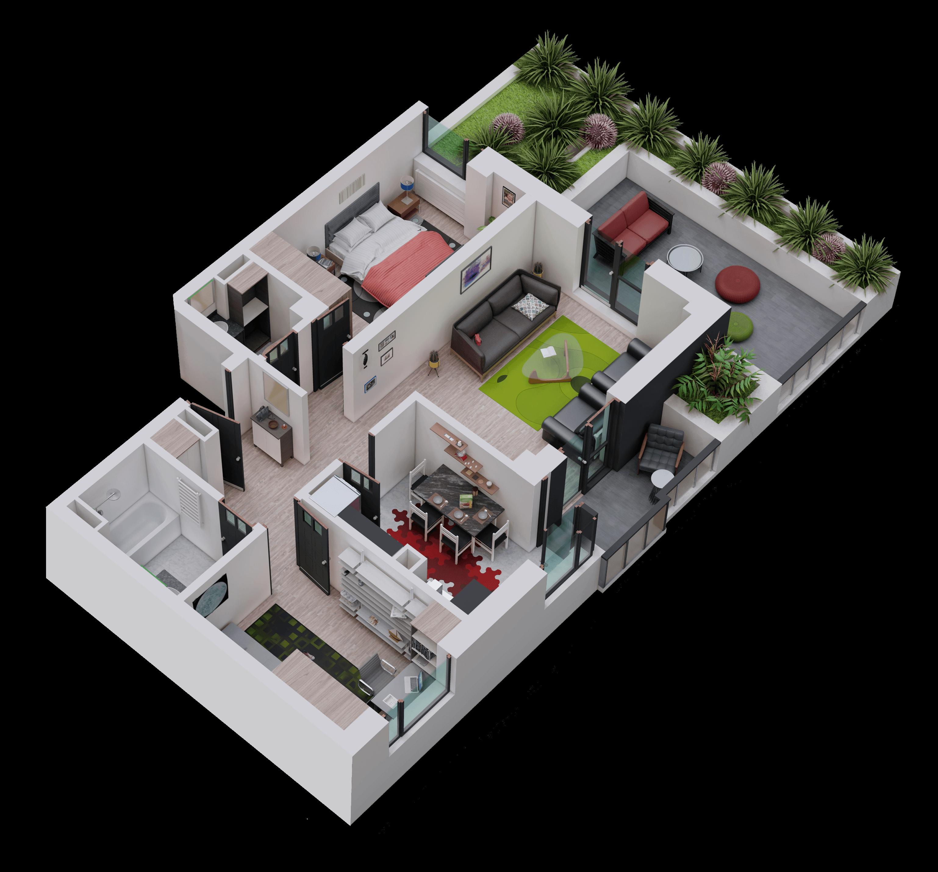 Apartament tip 18