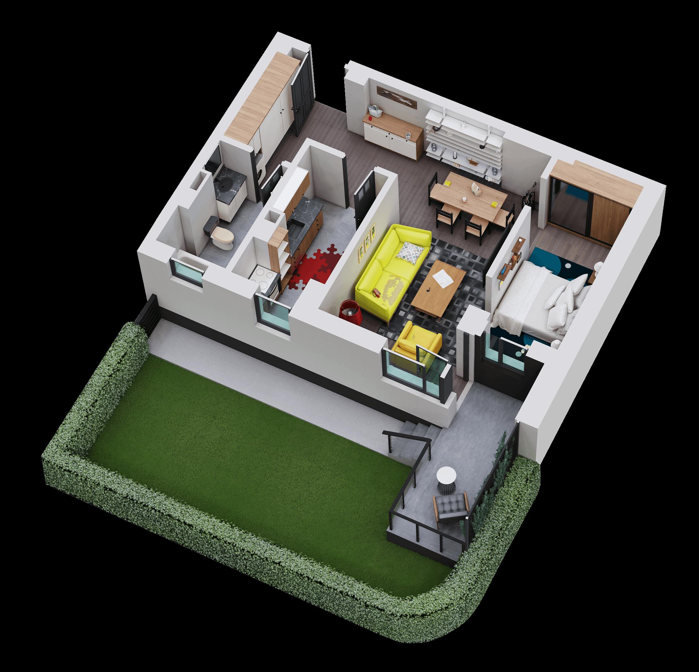 Apartament tip 02