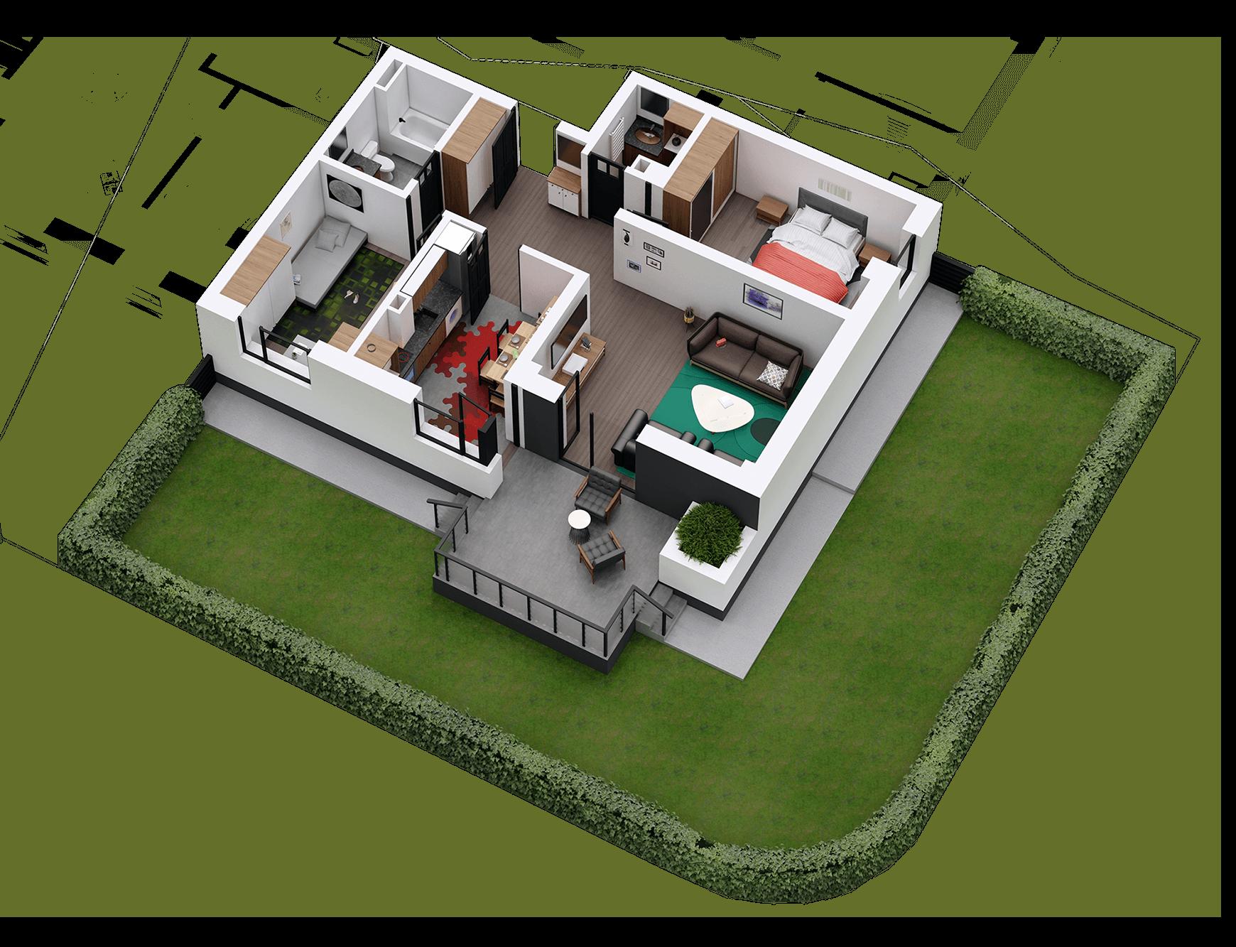 Apartament tip 03