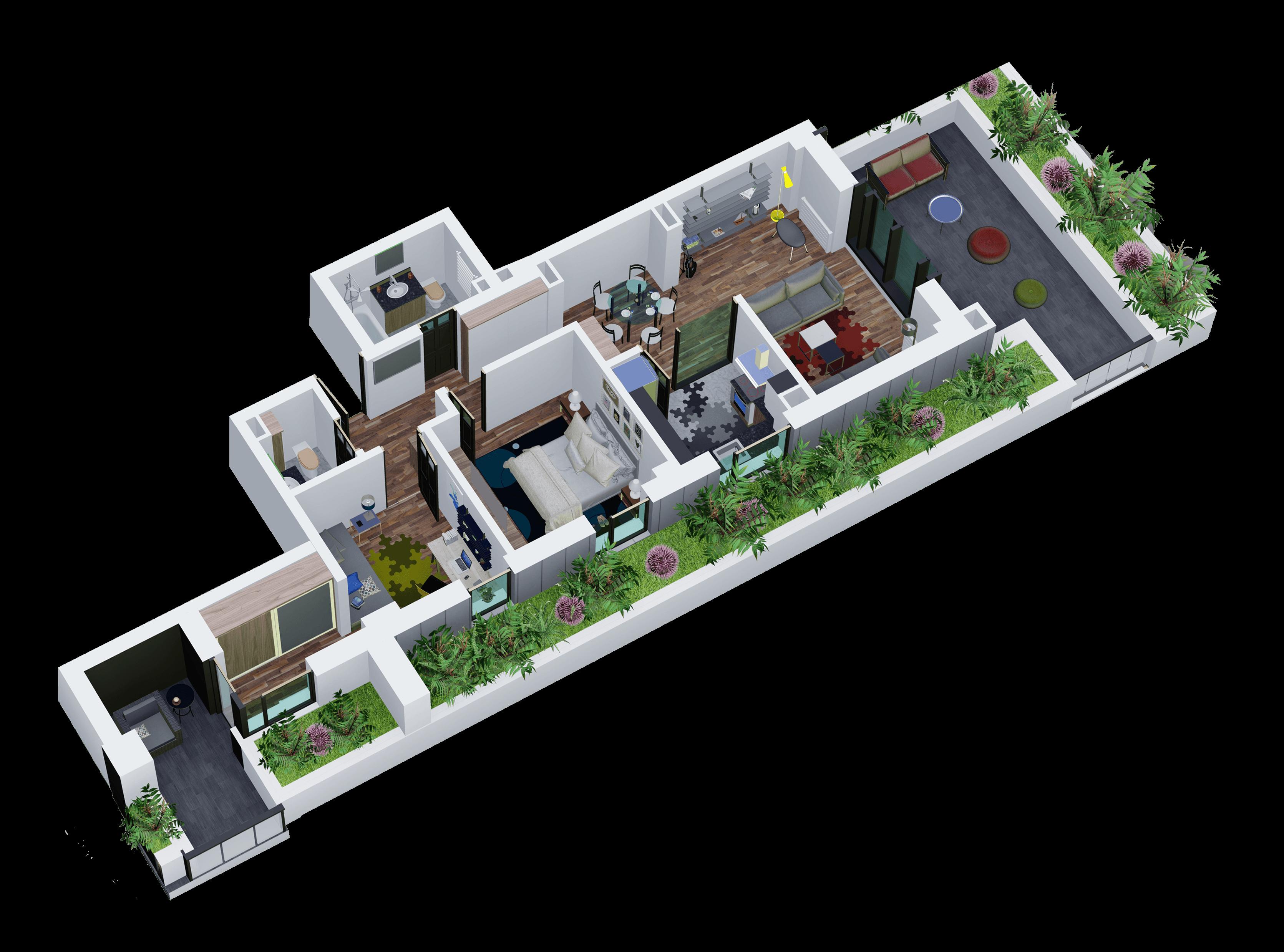 Apartament tip 20