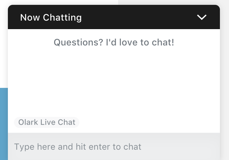 live chat conversions