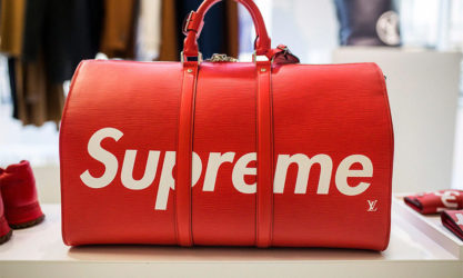 The Supreme x Louis Vuitton collaboration uses multiple rarity drivers