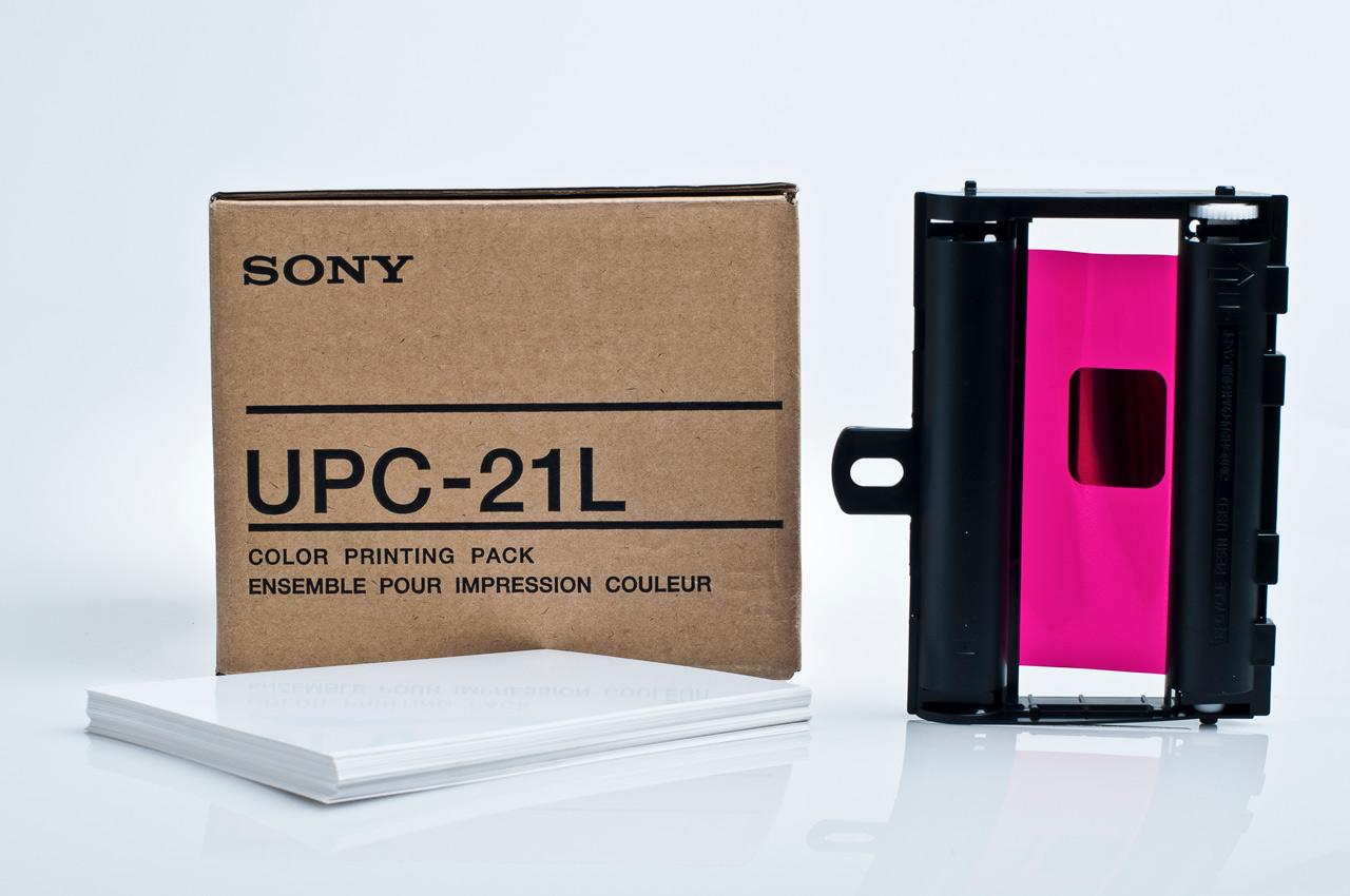 Color-Videoprinterpapier UPC-21L