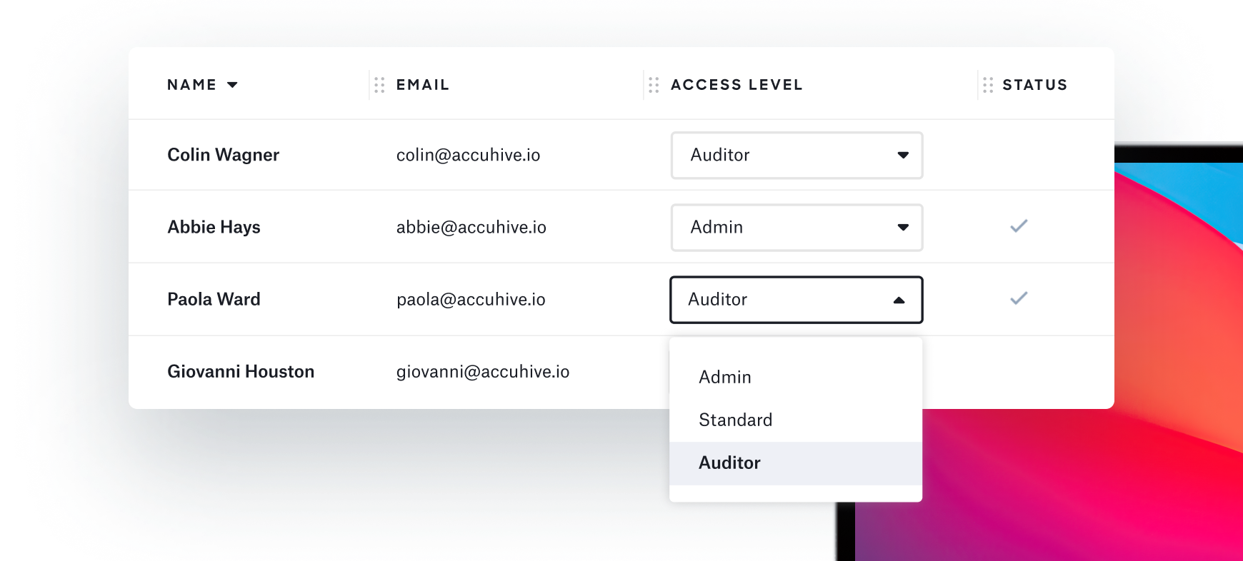 Auditor access