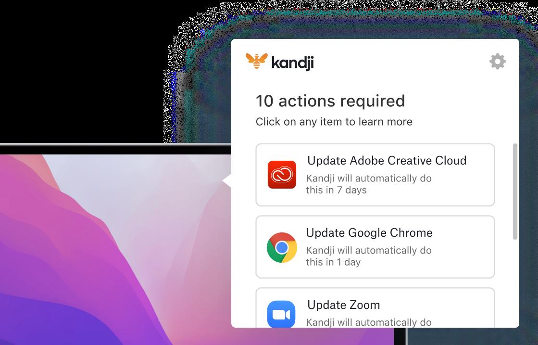 Auto App send user experience