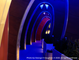 Issue #058 - Image of futuristic, deep blue hallway onboard a sailing vessel