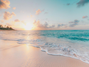 Issue #165 - Image of bright sunset over beach