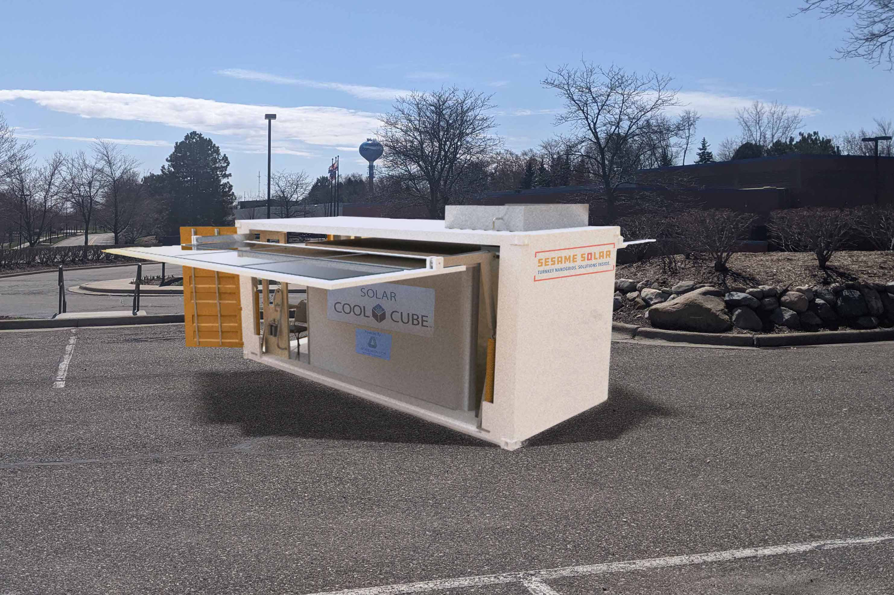 Sesame Solar Nanogrid Mobile Morgue Solution