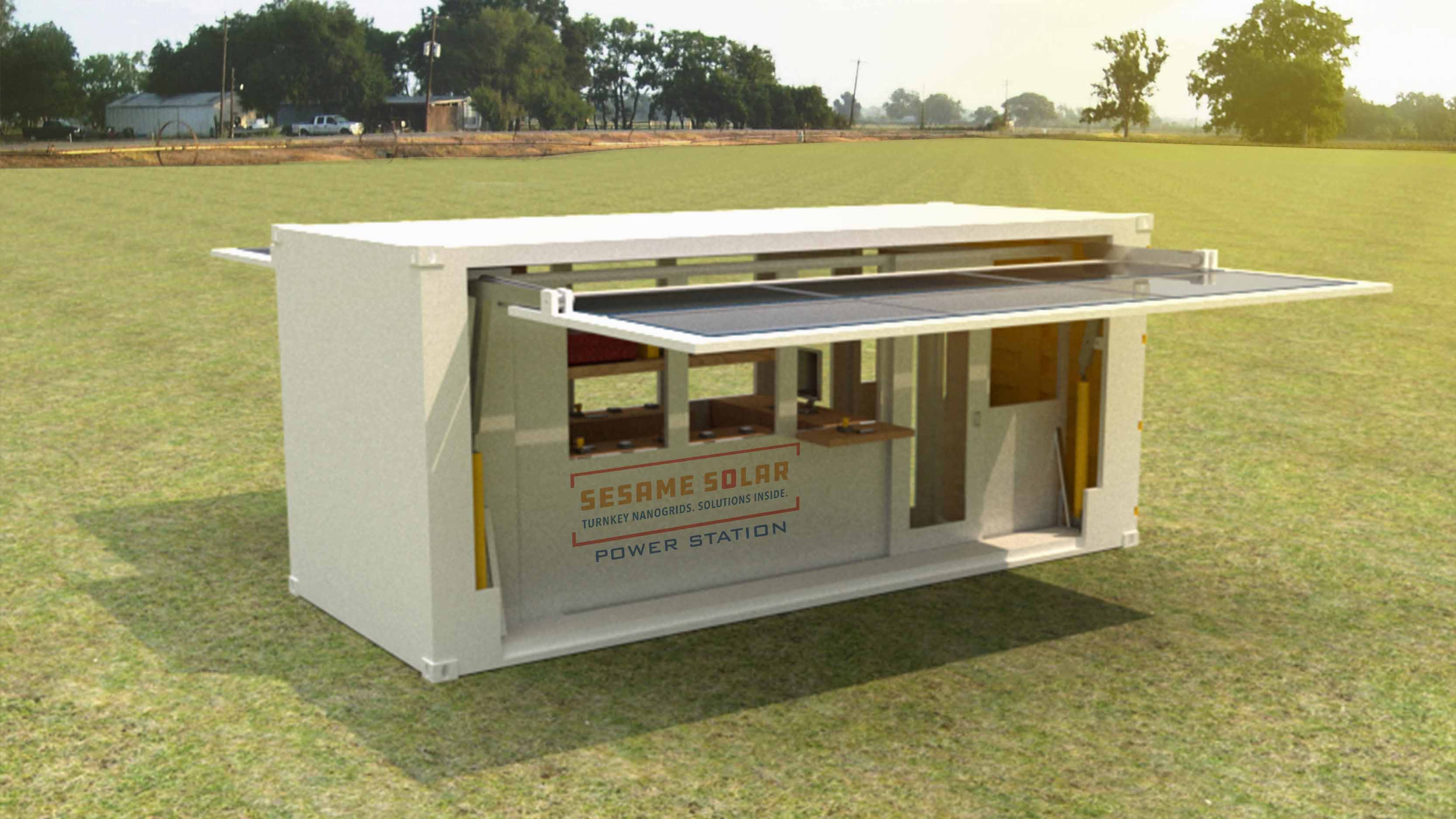 Sesame Solar Nanogrid Retail Solution
