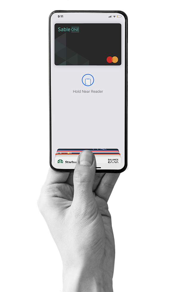 Use Sable One Secure anywhere Mastercard is accepted