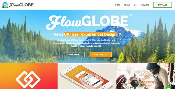 FlowGlobe website