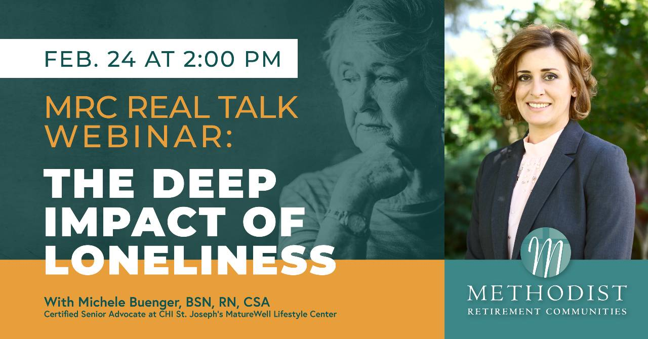 REAL TALK WEBINAR:  The Deep Impact of Loneliness