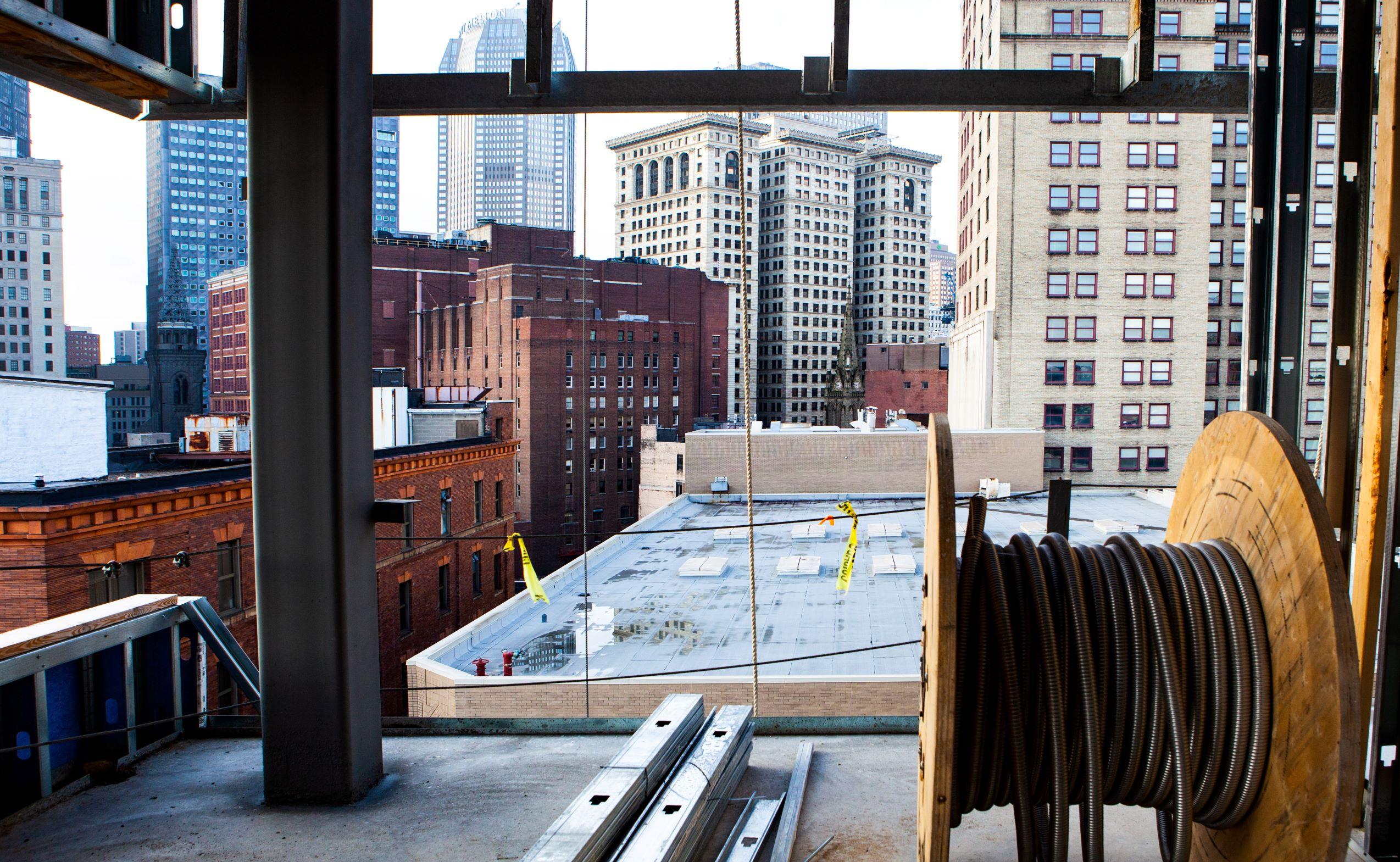 Rooftop Construction at TREK Development