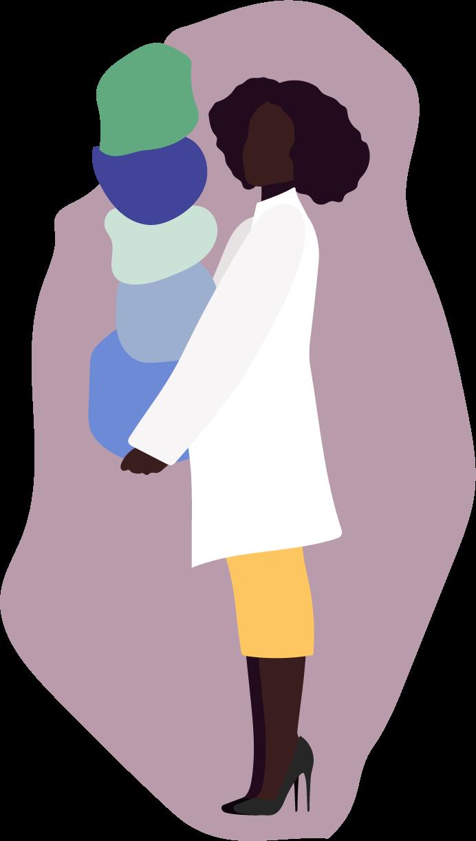 Women balancing career and family