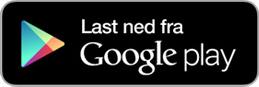Knapp for nedlasting av rydde appen fra google play.