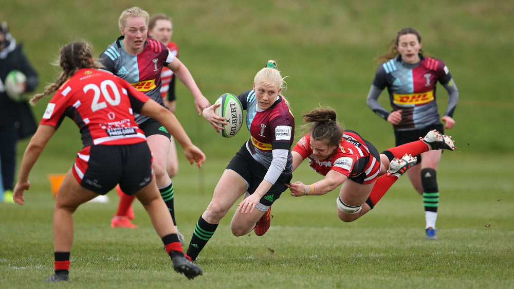 Harlequins Womens Rugby Players