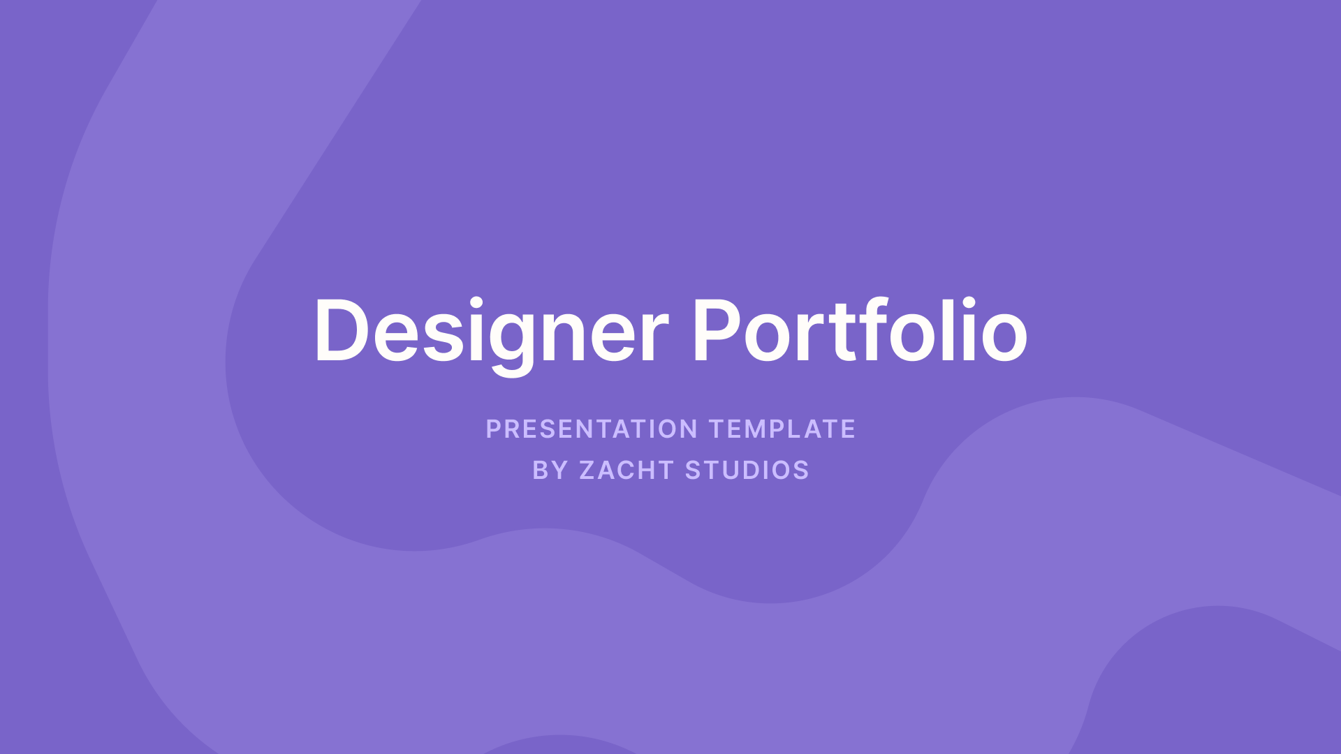 Are you a designer, about to interview for your dream job at that perfect company for you? Nail your next Portfolio Presentation with this template built for designers. Put your best foot forward, show off those case studies, and land your next job!