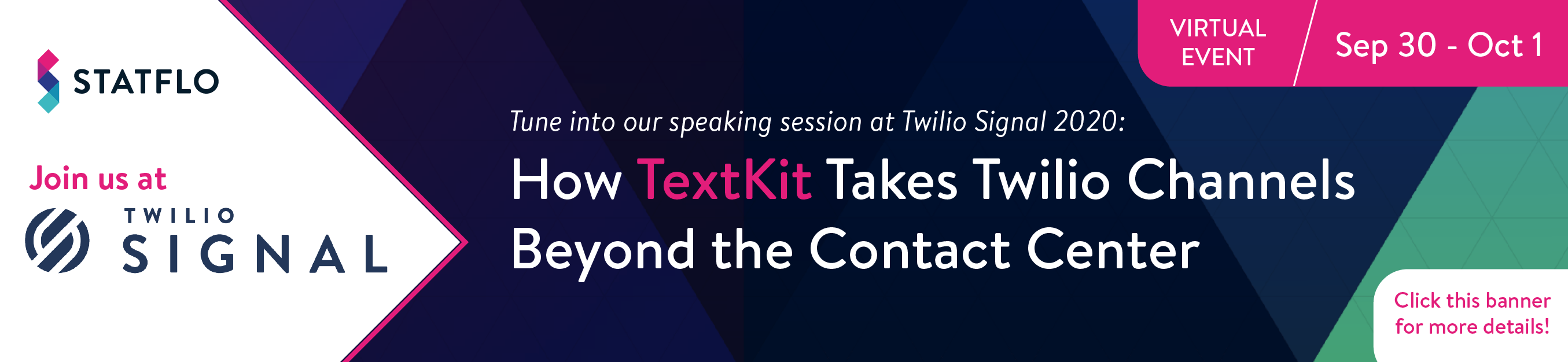 Join us at Twilio's upcoming developer conference where we share stories on why thousands of retailers are taking Twilio Channels beyond the contact center
