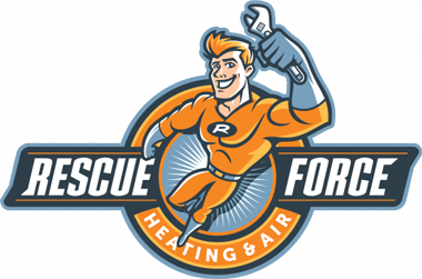 Rescue Force Heating & Air Logo