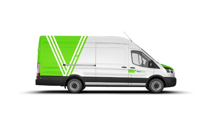 A extra long wheel base van from hire fleet - Doncasters No.1 rental agency serving Yorkshire, Nottinghamshire & Lincolnshire